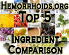 Top 5 Hemorrhoid Treatment Ingredients